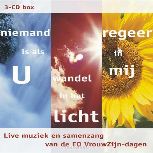 3-CD box (niemand, wandel, regeer)